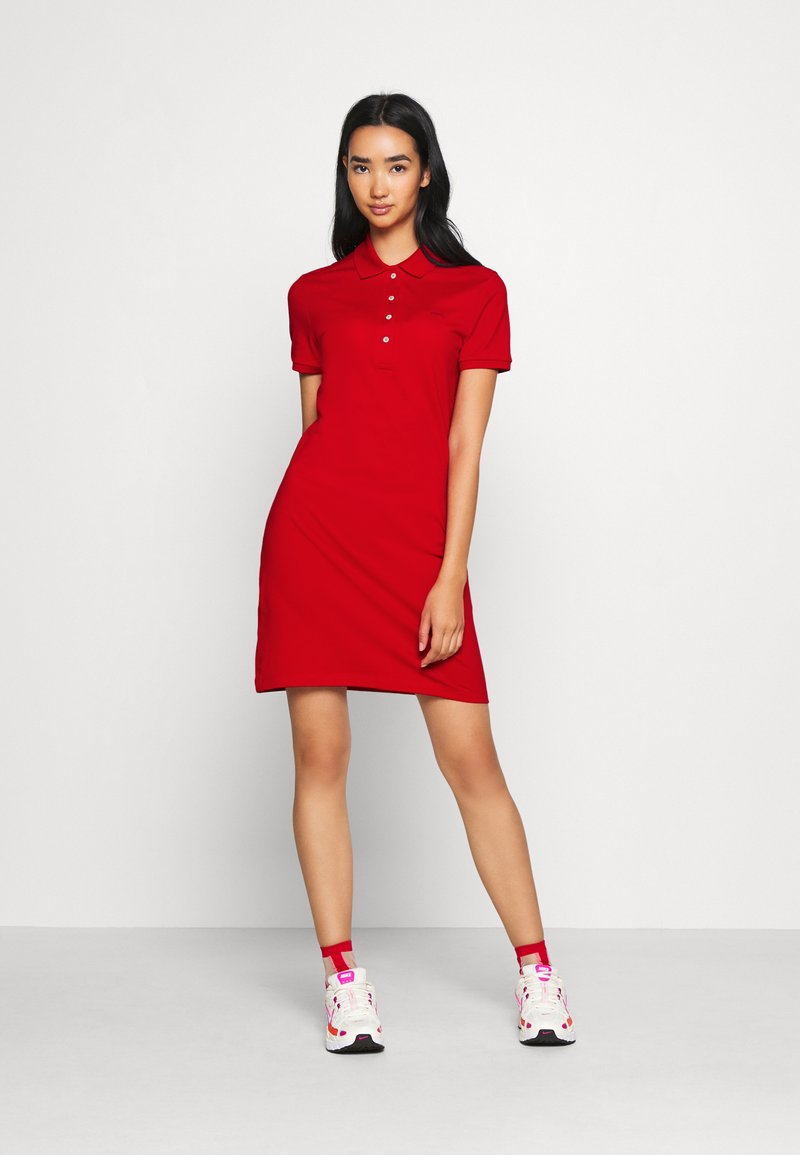 Lacoste - DRESS - Day dress - red