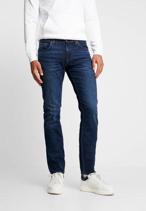 SLIM BLEECKER  - Slim fit jeans - dark blue denim