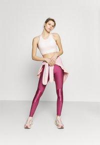 Under Armour - SHINE LEG - Tights - pink quartz - 1