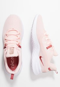 Nike Performance - RENEW RIVAL 2 - Juoksukenkä/neutraalit - echo pink/light redwood/metallic red bronze/white - 1