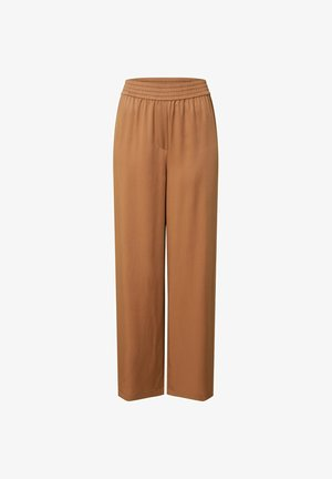 FRANKA - Trousers - braun
