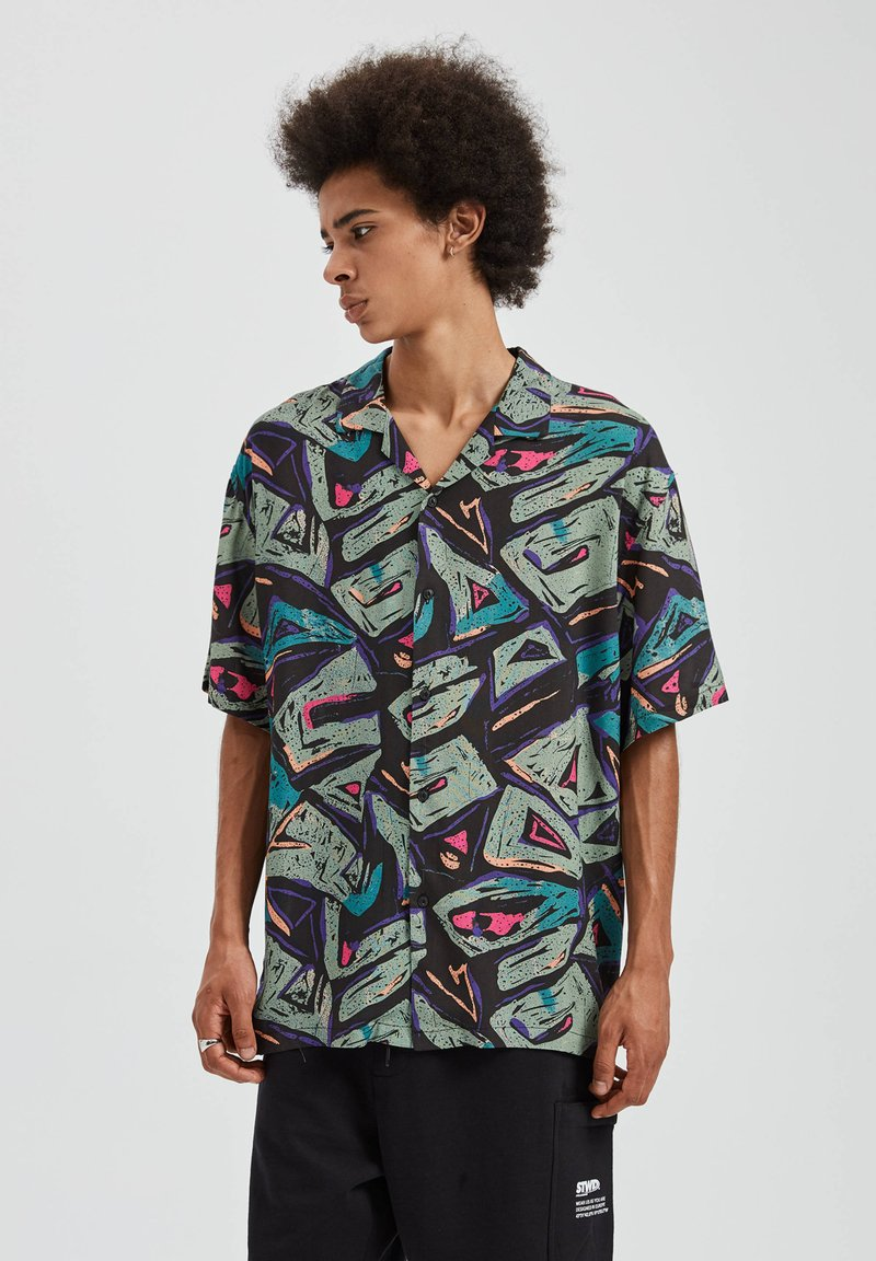 PULL&BEAR - Overhemd - multi-coloured