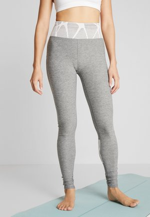 STUDIO ECLIPSE - Legging - medium gray heather/rosewater