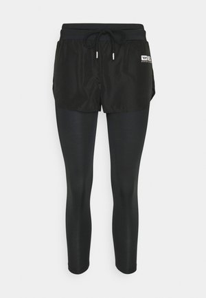 FAUSTIN - Pantaloni del pigiama - black