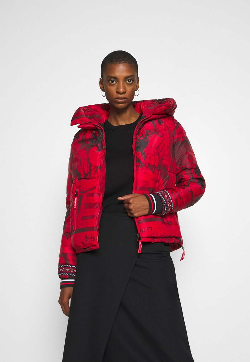 Desigual - PADDED BALTO - Giacca invernale - rojo abril
