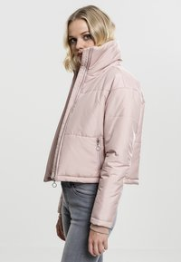 Urban Classics - LADIES OVERSIZED HIGH NECK JACKET - Light jacket - rose - 2