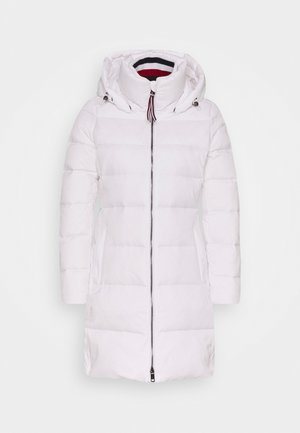 GLOBAL STRIPE COAT - Down coat - classic white