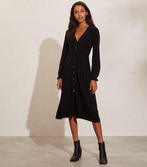 Vestido de punto - almost black