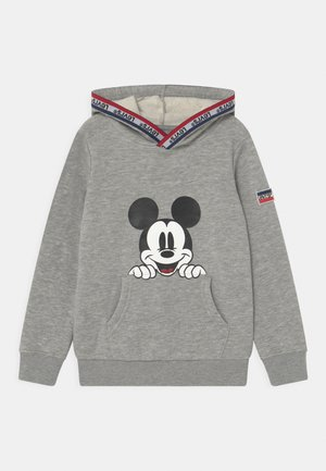 MICKEY MOUSE POCKET HOODIE UNISEX - Hoodie - grey