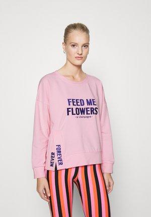 FEED ME FLOWERS - Sweatshirt - pink