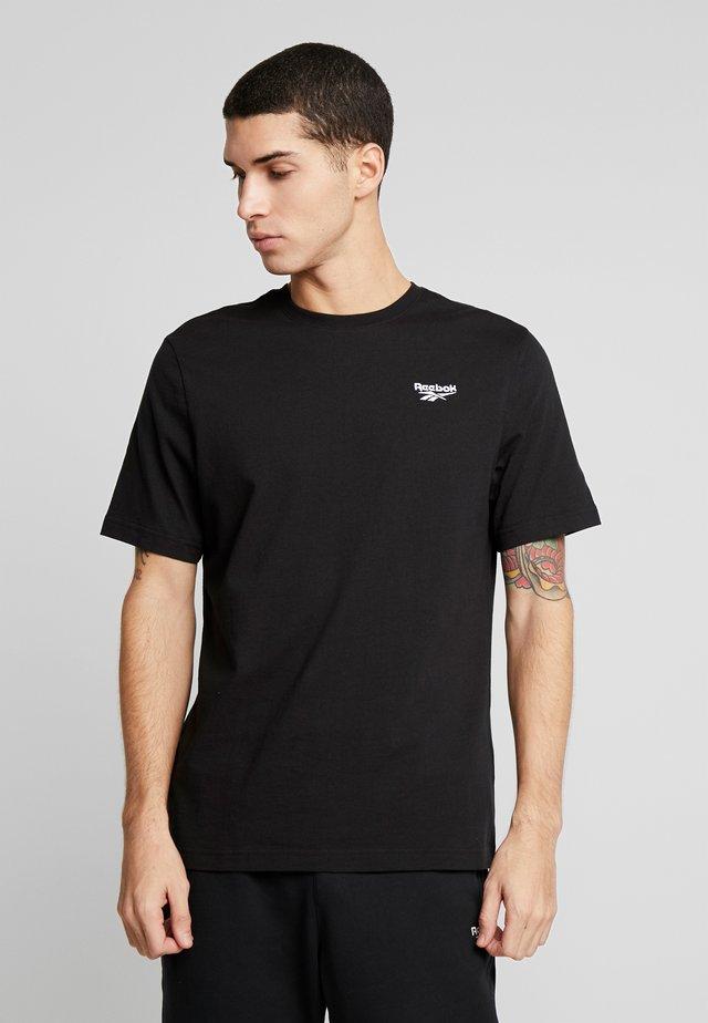 CASUAL SHORT SLEEVE GRAPHIC TEE - T-Shirt basic - black