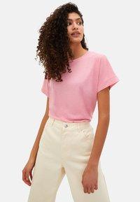LC Waikiki - Basic T-shirt - pink - 3