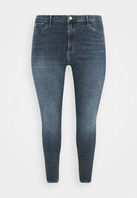 River Island Plus - Jeans Skinny Fit - dark smokey - 3