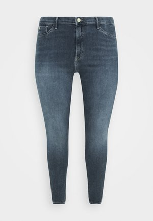 PLUS MOLLY FUSSILI - Jeans Skinny Fit - dark smokey