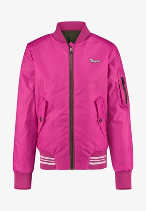 Bomber bunda - bright pink