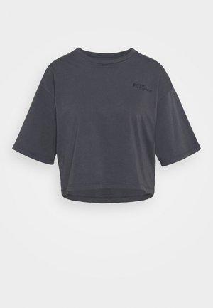 APRIL - Camiseta estampada - steel grey