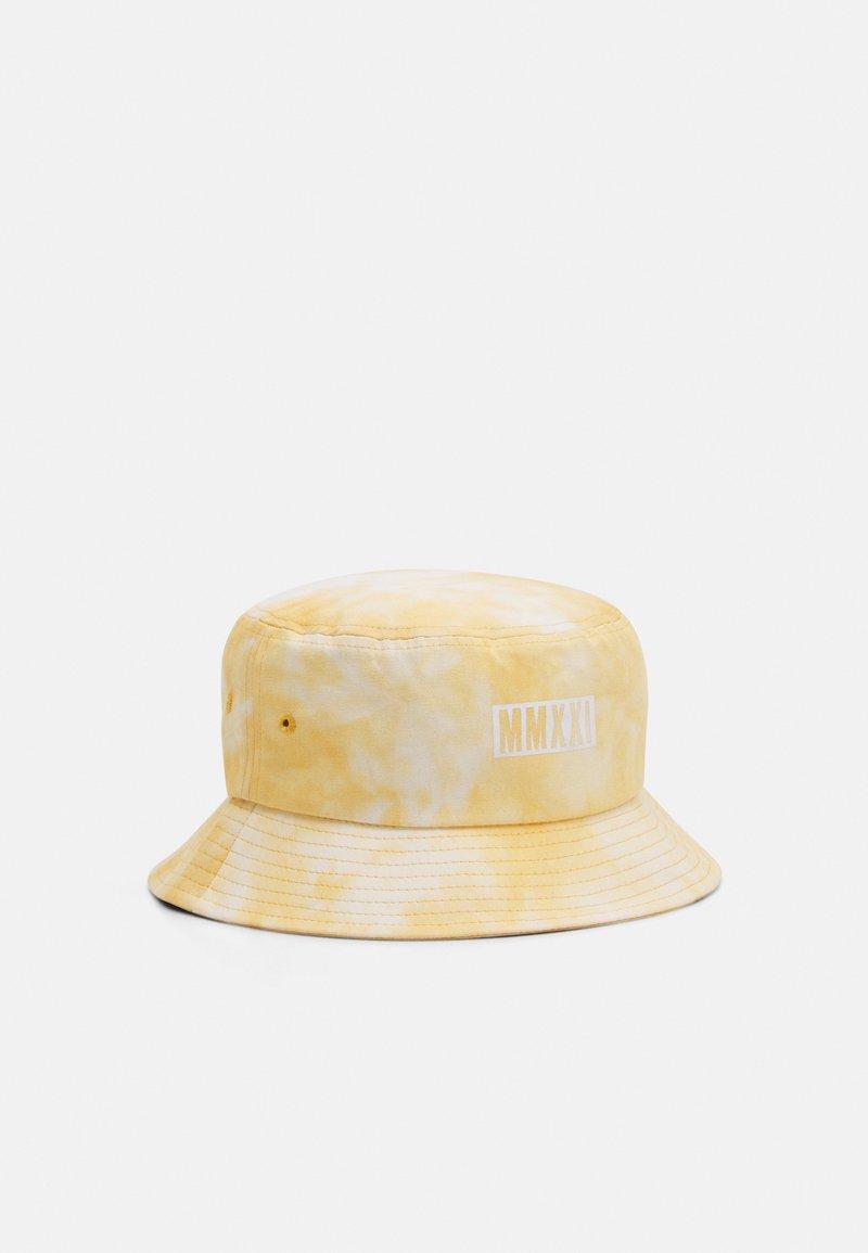 Vintage Supply - BUCKET HAT UNISEX - Klobouk - camel/white