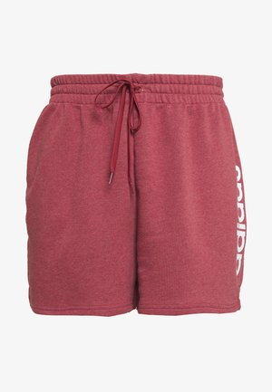ESSENTIALS INCLUSIVE SIZING SHORTS - Pantalón corto de deporte - legred/white