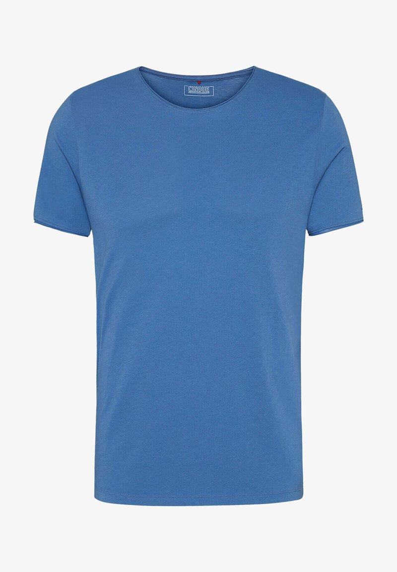 Cinque - Basic T-shirt - blau