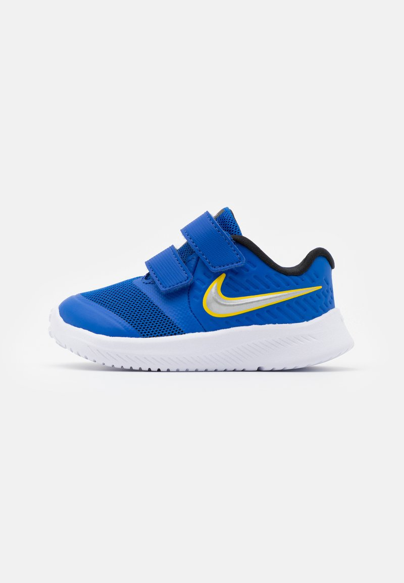 Nike Performance - STAR RUNNER 2 UNISEX - Neutrální běžecké boty - game royal/metallic silver/black/speed yellow