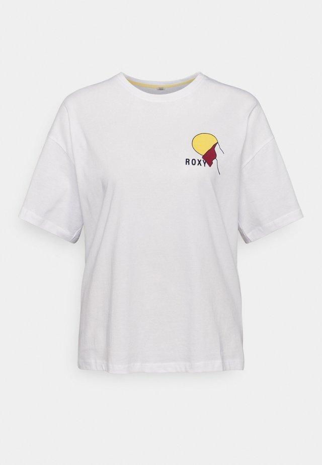 START ADVENTURES - T-shirt imprimé - bright white