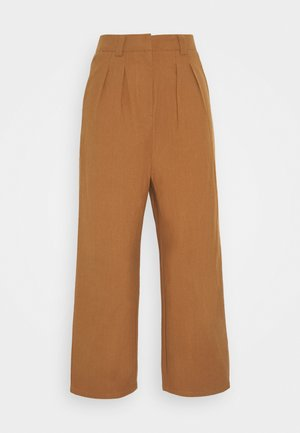 7/8 PANT - Trousers - brown