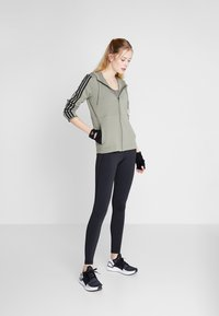 adidas Performance - ASK LONG - Leggings - black/white - 1