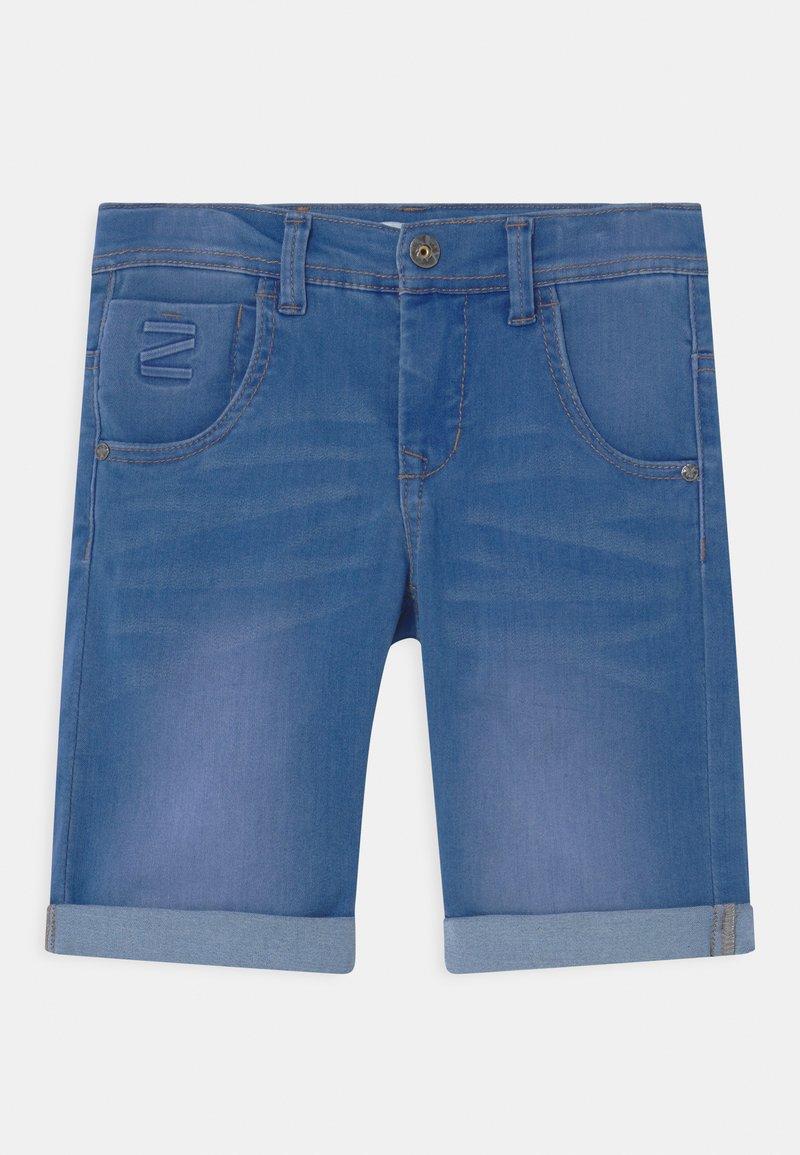 Name it - NKMTHEO  - Denim shorts - medium blue denim