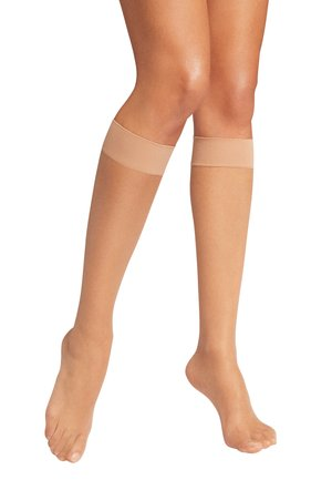 Knee high socks - bronze