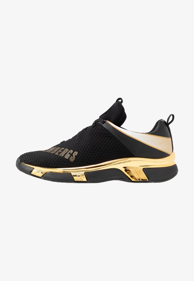KADEM - Trainers - black/gold