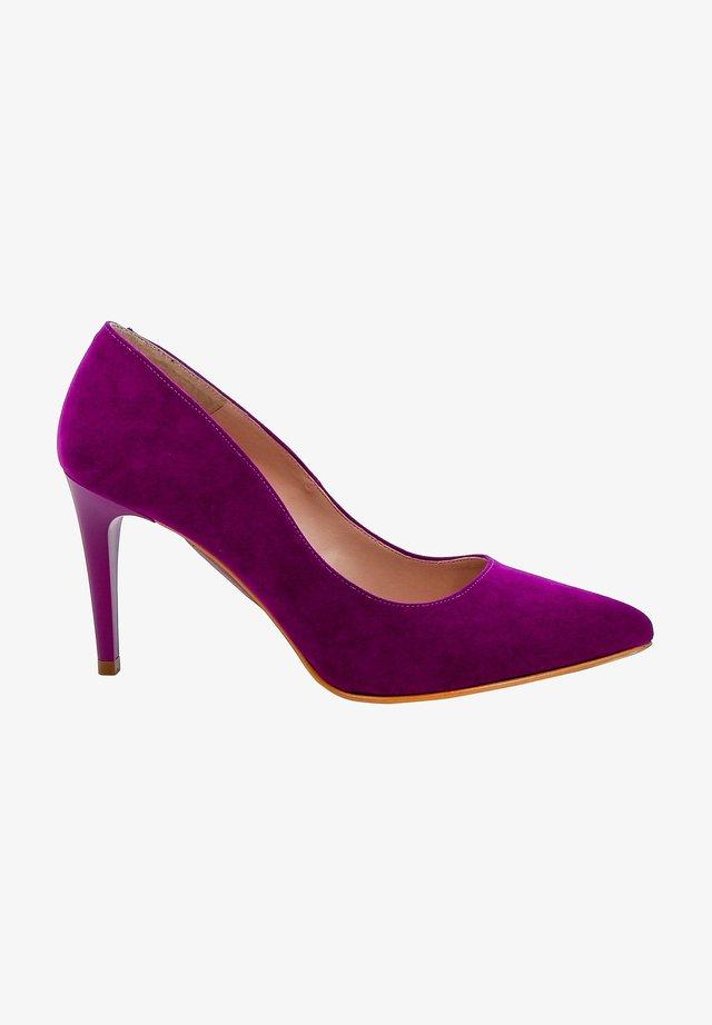 Klassieke pumps - purple