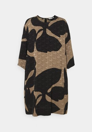 PEURA TULIAISET - Day dress - taupe/black