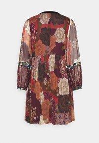 Derhy - ENCOURAGEE ROBE - Denní šaty - burgundy - 1