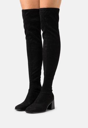 ONLBIJOU LIFE HEELED BOOT - Høye støvler - black
