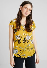 ONLY - ONLVIC - Blouse - chai tea/yellow - 0