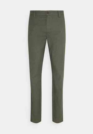 CASUAL TAPERED - Chino - sage garden dark