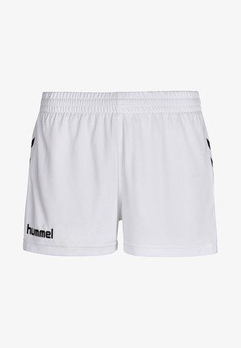 CORE - Korte sportsbukser - white