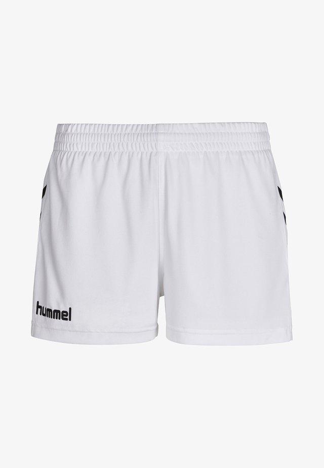 CORE - kurze Sporthose - white