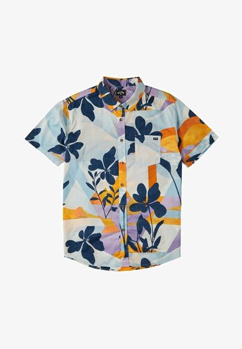SUNDAYS FLORAL - Shirt - sky blue