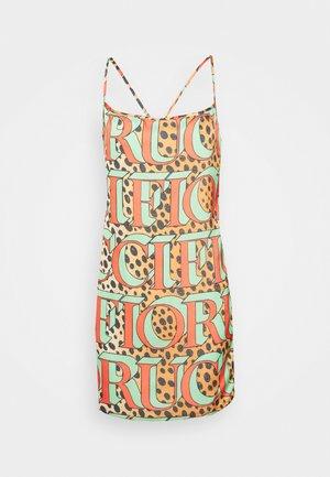 LEOPARD LOGO SLIP DRESS  - Sukienka letnia - multi
