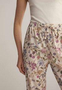 OYSHO - Pyjama bottoms - white - 4