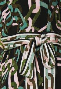 Diane von Furstenberg - GALA - Jersey dress - black/ivory - 6