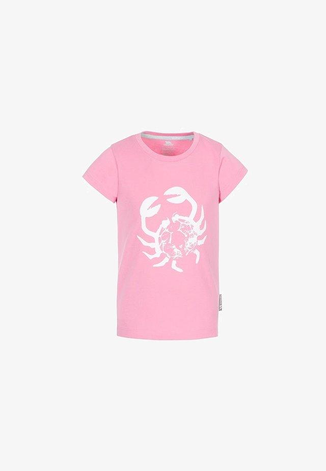 SIMPLY - Print T-shirt - pink