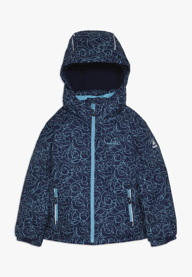 TESSIE TIPTOE - Winter jacket - dark blue/turquoise
