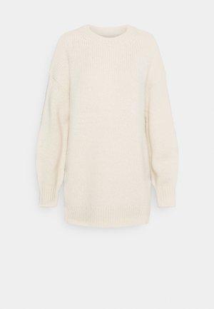 LONGSLEEVE ROUND NECK - Jumper - off white