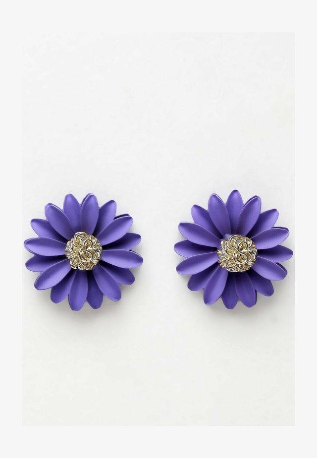 Boucles d'oreilles - purple