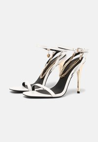 Even&Odd - LEATHER - High heeled sandals - white - 2