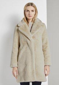 TOM TAILOR - Winter coat - warm sand beige - 5
