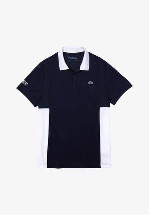 TENINS  - Camiseta de deporte - bleu marine/blanc/blanc/blanc