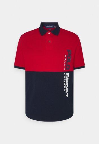 BASIC - Polo shirt - red/multi